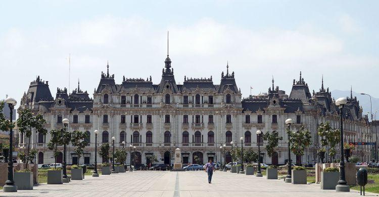 Pérou, Lima, Edificio Rímac, edificio de estilo francés