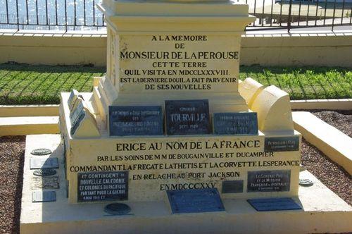 Australie, La Perouse, La Perouse French Inscription