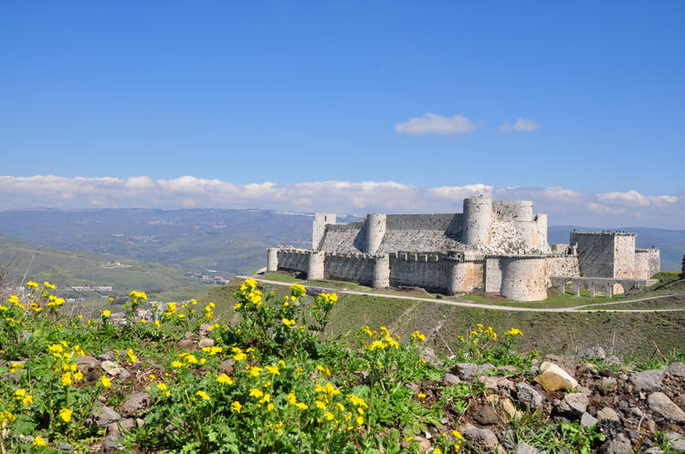 Crac des Chevaliers and Qal'at Salah El-Din (Syrian Arab Republic) © Silvan Rehfeld.