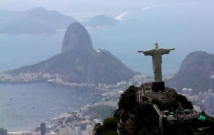 Cristo_Redentor, Rio de Janeiro.