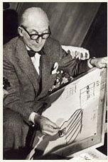 Inauguration de la Cité radieuse de Le Corbusier France Archives
