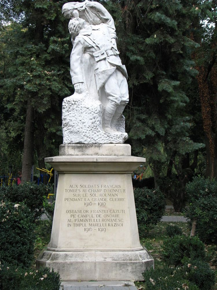Roumanie, Bucarest, Monument des Héros Français
