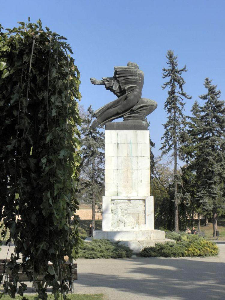 Serbie, Belgrade, Monument de la reconnaissance à la France