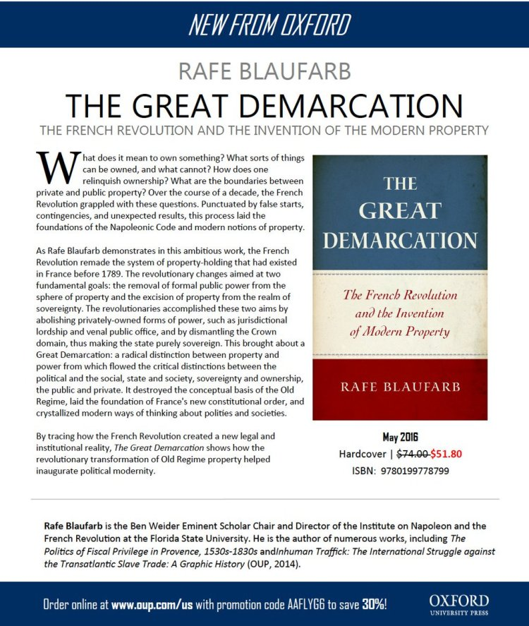 The Great Demarcation The French Revolution and the Invention of Modern (verso)