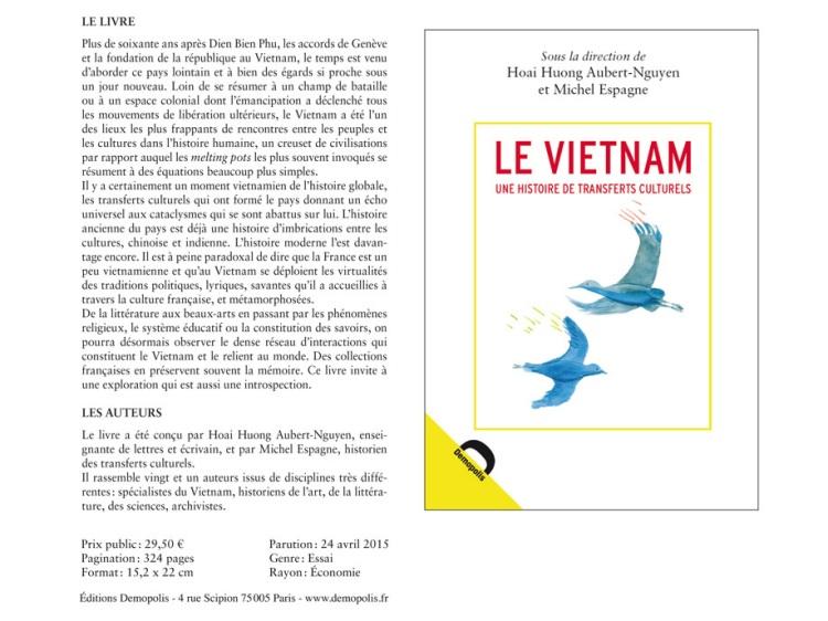 Le Vietnam Une histoire de transferts culturels (collectif 2015)