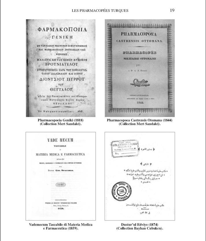 Les pharmacopées turques de langue française_pharm_2009