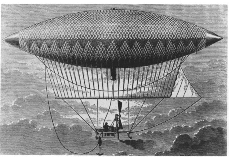 The First Powered Airship_henri-giffard