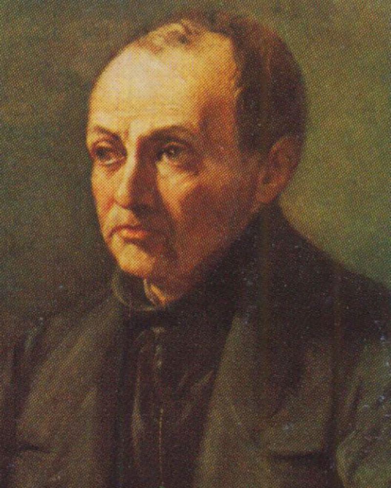 Auguste Comte, Philosophe français (Montpellier 1798-Paris 1857)
