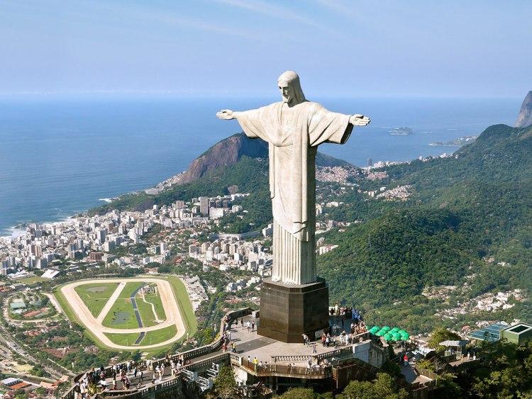 Brésil, Rio de Janeiro, Christ-redempteur