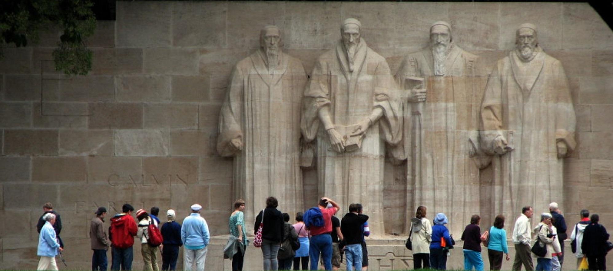 Suisse, Genève, Monument de la Réformation