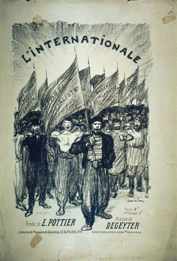 L_Internationale, hymne révolutionnaire