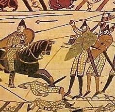 La tapisserie de Bayeux (détail)