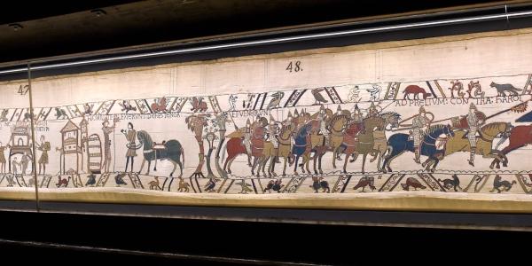 La tapisserie de Bayeux en Angleterre_un prêt hors-norme pour une oeuvre unique_photo1