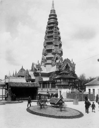 Angkor à Paris, c'est arrivé lors des Expos Universelles_3