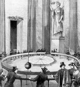 Foucault fait la démonstration de la rotation de la Terre au Panthéon France Archives