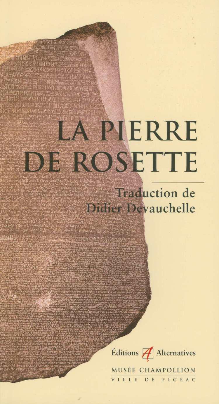 la pierre de rosette - Didier Devauchelle (recto).jpg