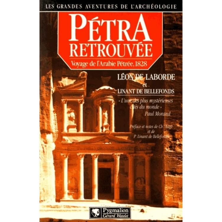 Pétra retrouvée Voyage de l'Arabie Pétrée, 1828.jpg