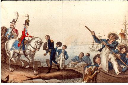Election de Jean-Baptiste Bernadotte (1764-1844) à la succession au trône de Suède