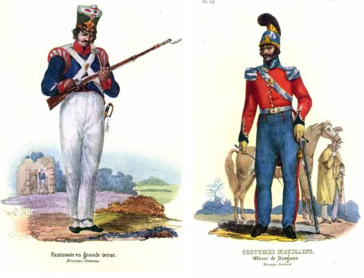 El modelo francés se impone en el Ejército mexicano