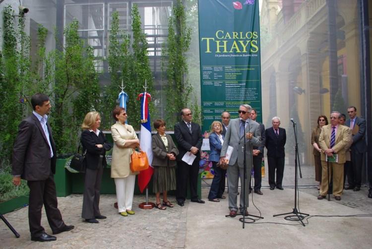 Carlos Thays, un jardinero francés en Buenos Aires (Centro Cultural Recoleta, Buenos Aires, 2009)