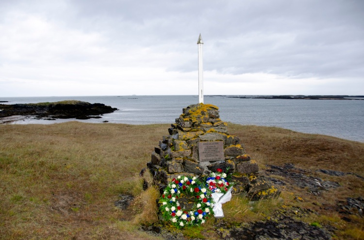 Islande, commemorations du 80e anniversaire de la disparition du commandant charcot