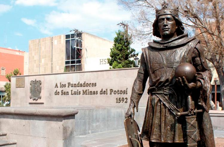 San Luis Rey de Francia, patrono de la ciudad San Luis Potosí
