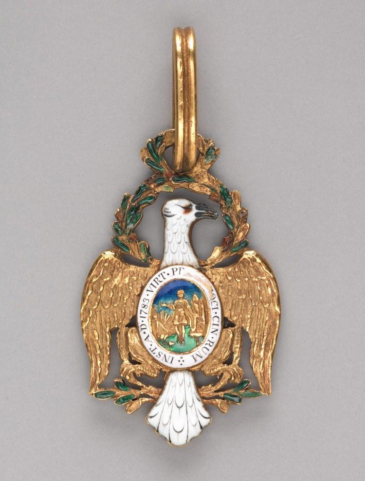 Badge of the Cincinnati Medal The Metropolitan Museum of Art