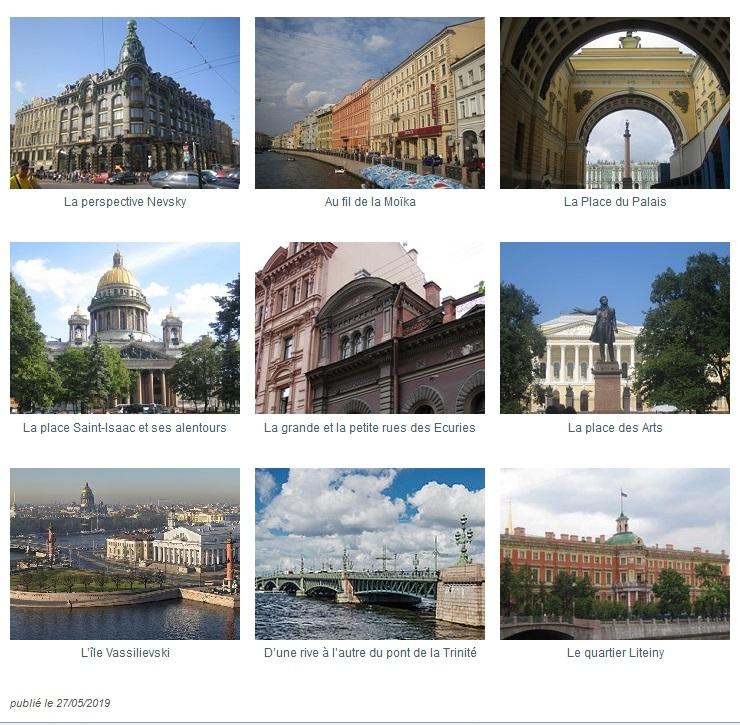 Saint-Pétersbourg, l'itinéraire français Ambafrance_img0