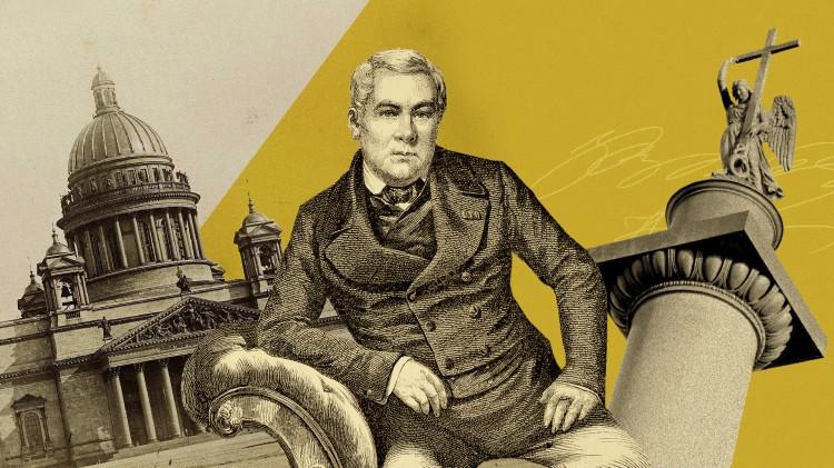 Français au service de l'Empire russe Auguste Montferrand, grand architecte de Saint-Pétersbourg Russia Beyond
