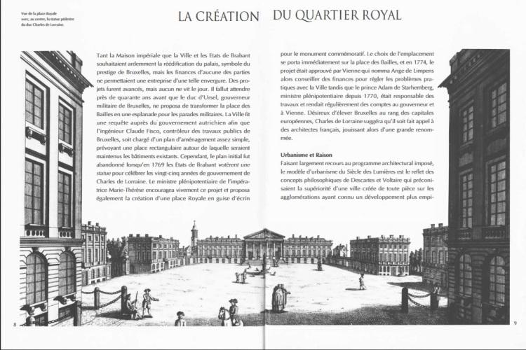 Bruxelles ville d'art et d'histoire, Le quartier royal (Région de Bruxelles-Capitale, 1995)_img2