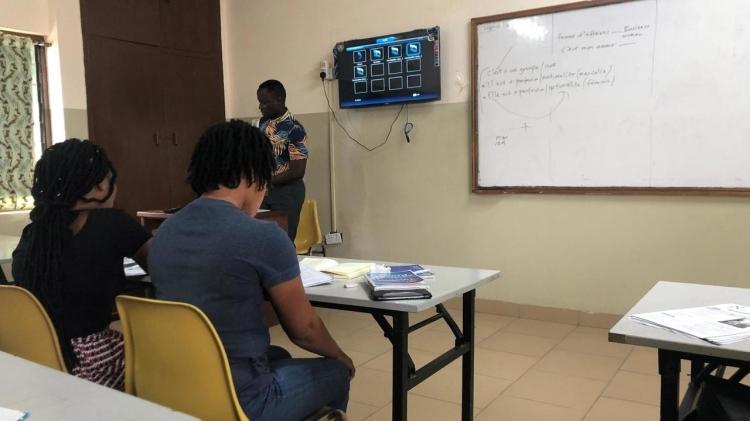 Ghana la francophonie a le vent en poupe