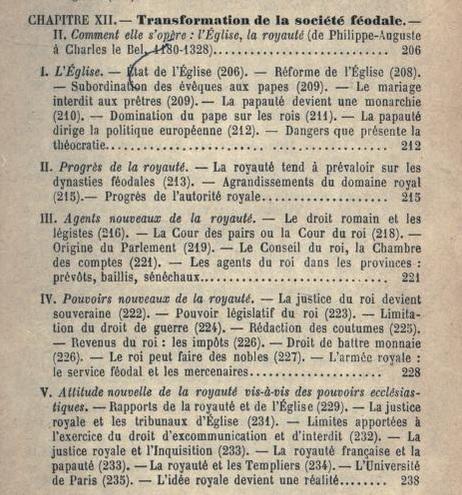 Histoire de la civilisation Française, CHAP XII (Rambaud, Alfred, vol. 1, 1895)