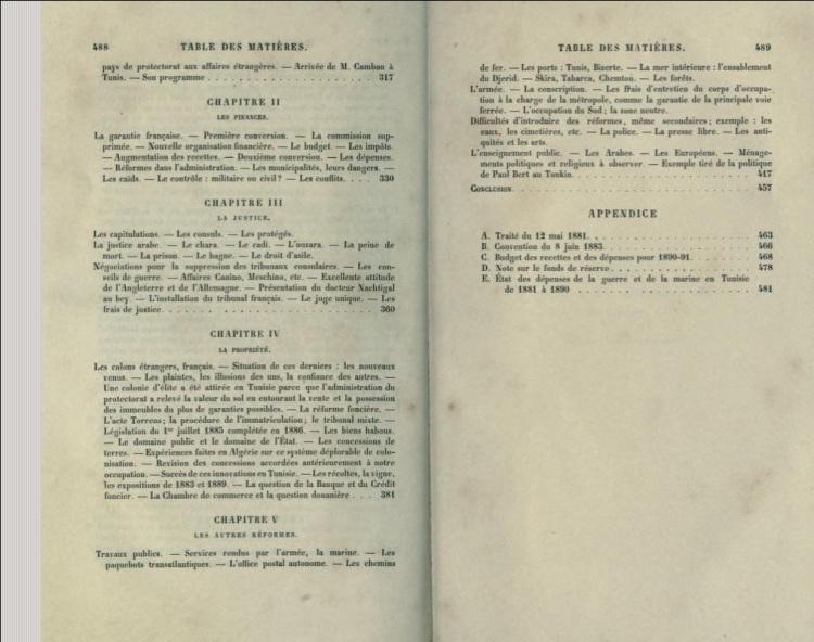 La politique française en Tunisie; le protectorat et ses origines (1854-1891) par P.H.X (1891)_img2
