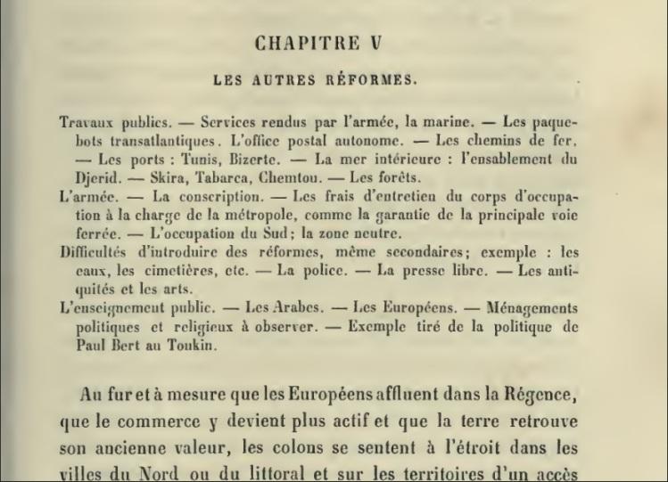 La politique française en Tunisie; le protectorat et ses origines (1854-1891) par P.H.X (1891)_img3
