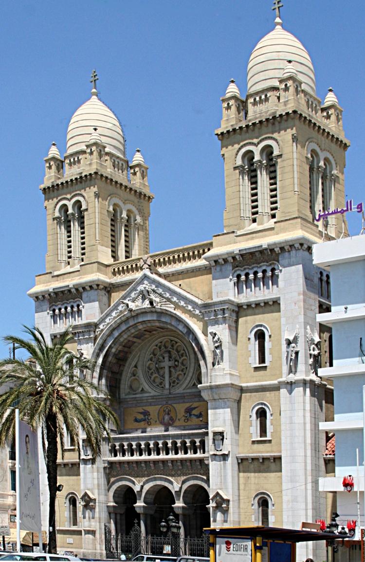 Tunisie_tunis_Cathédrale-Saint-Vincent-de-Paul-