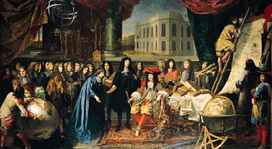 Organisation de l' Académie royale des Sciences par Louis XIV