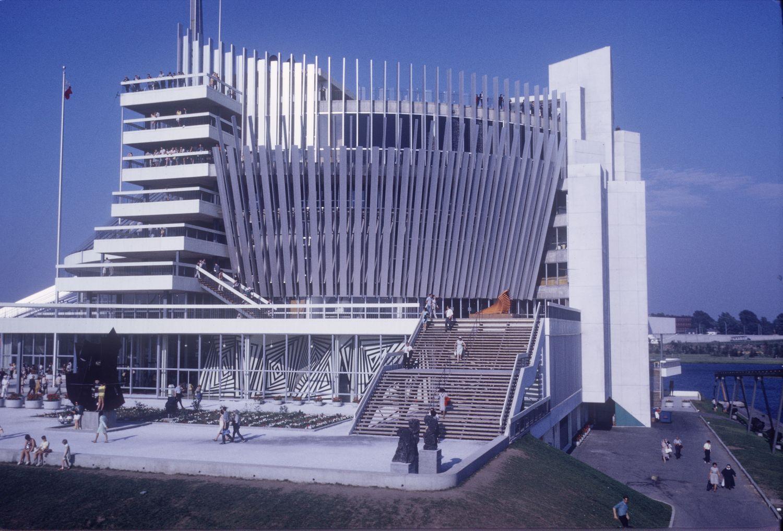 Pavillon de la France Bibliothèque et Archives nationales du Québec