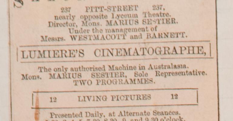 SALON LUMIÈRE, AUSTRALIA'S FIRST CINEMA_img2