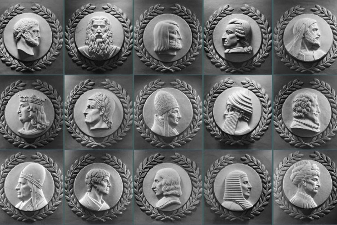 text alt : Sont représentés 15 des 23 reliefs